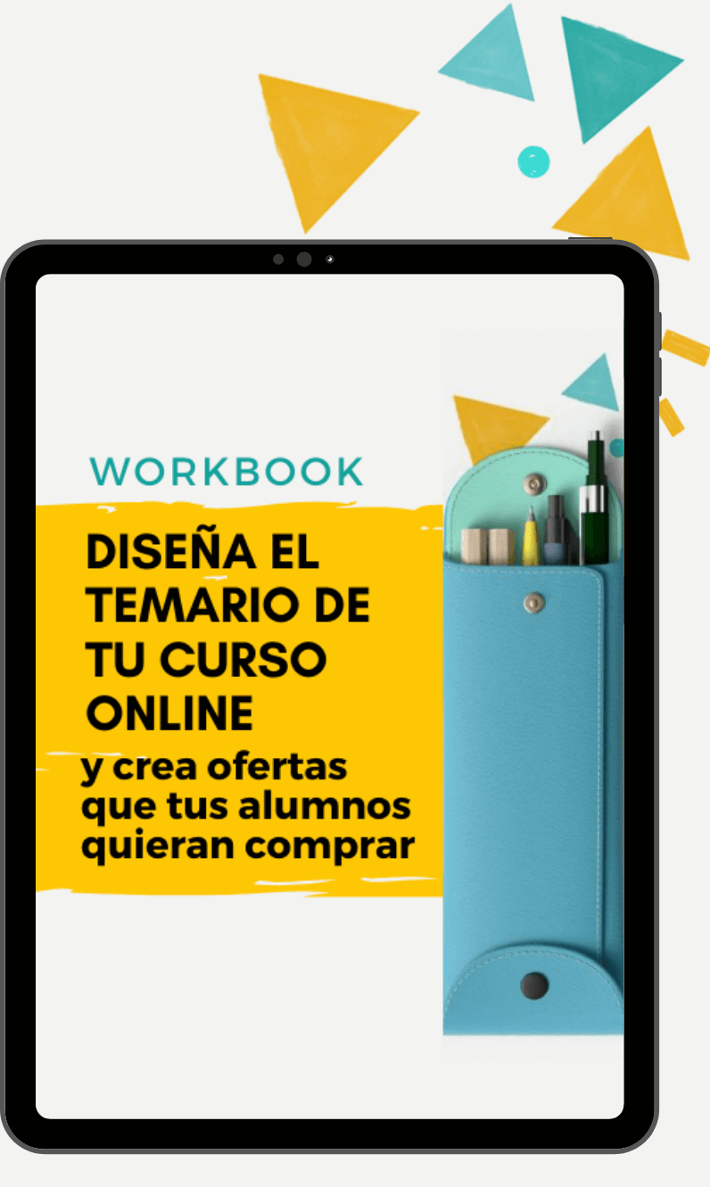 Workbook Diseña el temario de tu curso online